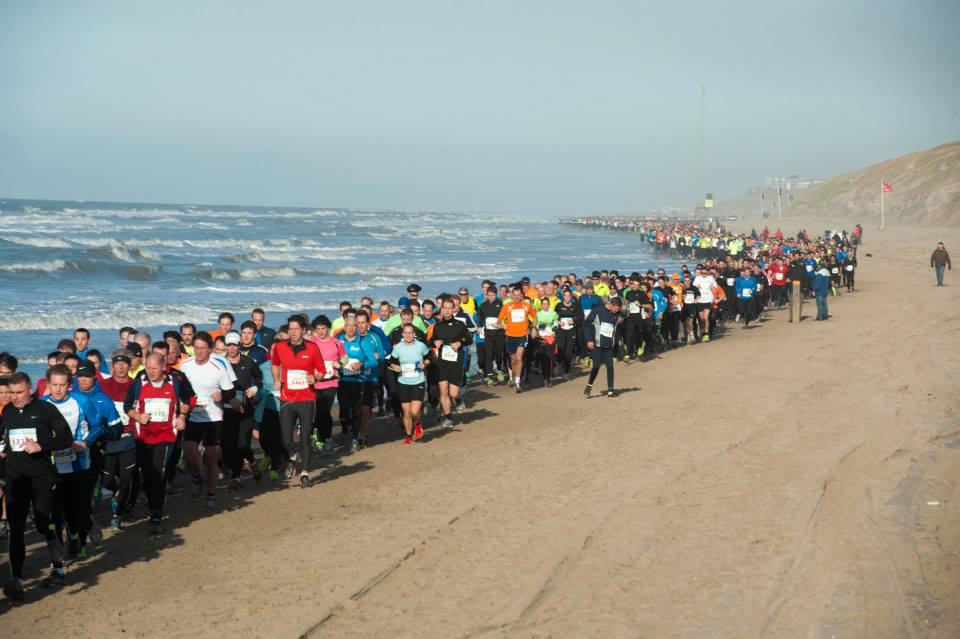 Egmond, NL, Halb Marathon 13. Januar