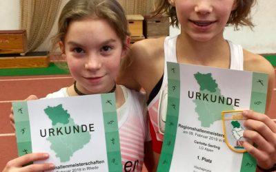 Regionsmeisterschaften-Halle-, Rhede, 9. Februar