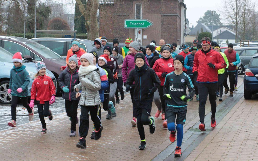 120 Läufer trotzen dem Wetter