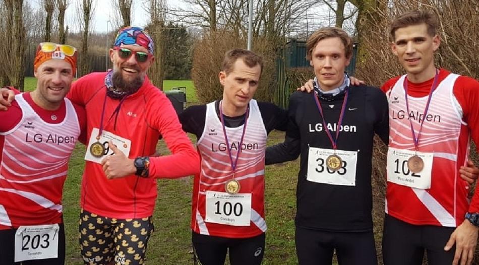 In Kevelaer ganz vorne: LG Alpen schnellstes Marathon-Team