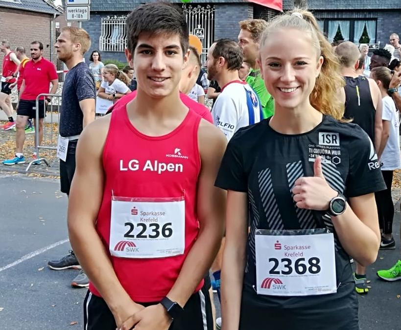 Stadtlauf Wachtendonk mit Regionsmeisterschaft Nord 10 km, 1. September