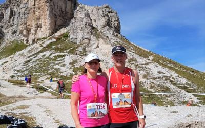 Drei Zinnen Alpine Run, Sexten Südtirol 14. Sept.