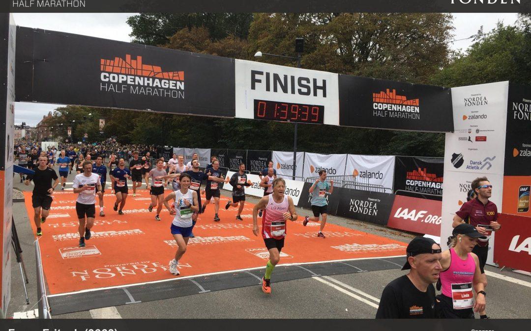 Kopenhaben Halbmarathon 15. September