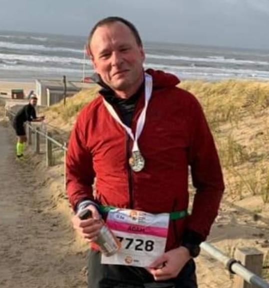 Egmond (NL) Halve Marathon, 12.01.2020